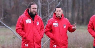 Frank Tanne und Steffen Knäbe verstärken das NLZ