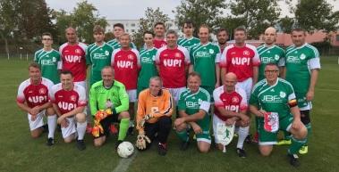 Traditionsmannschaft spielte gegen Jugendberufsförderung Erfurt